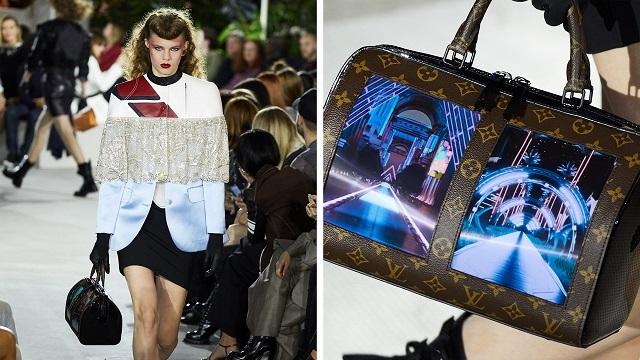 A jövőbe repítenek Louis Vuitton tévé képernyős táskái - taska-2, kiegeszitok-2, ujdonsagok -