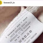 Fast Fashion ellenes aktivistától lopott a Forever 21