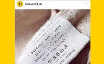 Fast Fashion ellenes aktivistától lopott a Forever 21 - ujdonsagok -