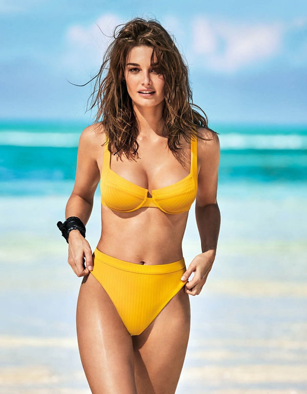 Calzedonia Swimwear Summer 2019 with Barbara Palvin and Ophelie Guillermand - fashion -