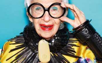 Magnum x Iris Apfel-  Two timeless icons united - fashion -