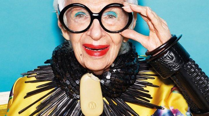 Iris Apfel a Magnum jégkrém új arca - ikonok-es-divak, ujdonsagok -