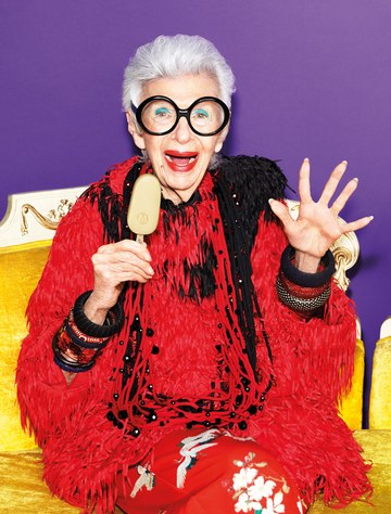 Magnum x Iris Apfel-  Two timeless icons united - fashion -