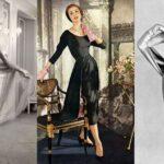 Dior egyik kedvenc modellje, Odile Kern visszaemlékezései