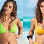 Calzedonia Swimwear Summer 2019 with Barbara Palvin and Ophelie Guillermand