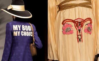 A Gucci a nők szabad döntésjoga  mellett kampányolt bemutatójával - ujdonsagok -