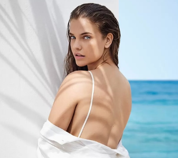 Giorgio Armani Italian Sun kollekcióját Palvin Barbi reklámozza - smink-2, beauty-szepsegapolas -