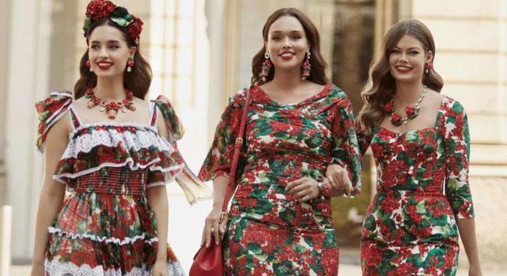 A luxus divatházak közül a Dolce & Gabbana elsőként bővíti kollekcióját plus size méretekre is - ujdonsagok -