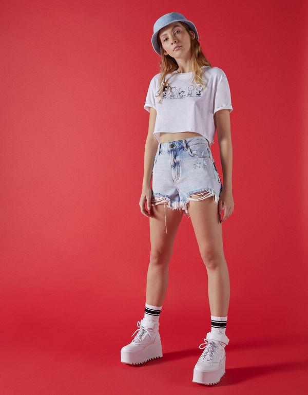 oficial mejor calificado paquete de moda y atractivo Últimas tendencias SNOOPY X BERSHKA - new collaboration - Paradi Online