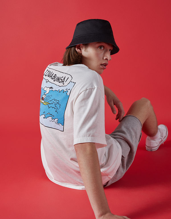 SNOOPY X BERSHKA - new collaboration - fashion -