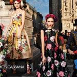 Dolce & Gabbana 2019-20 őszi-téli kampánya Milánót ünnepli