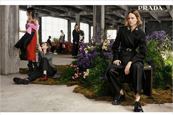 Prada 2019 2020 őszi-téli kampánya - oszi-es-teli-divat, ujdonsagok -