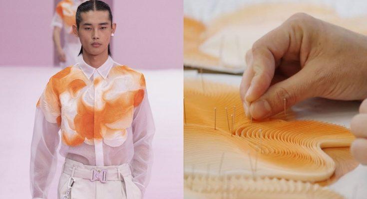 Így készült a Dior SS 2020-as férfi kollekciójának díszítése - oszi-es-teli-divat, ujdonsagok -