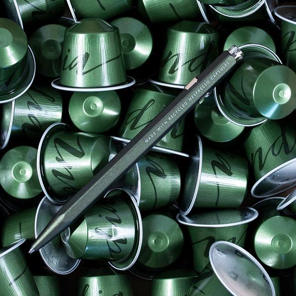 Caran d'Ache golyóstollak készülnek a Nespresso kapszulákból - design-2 -