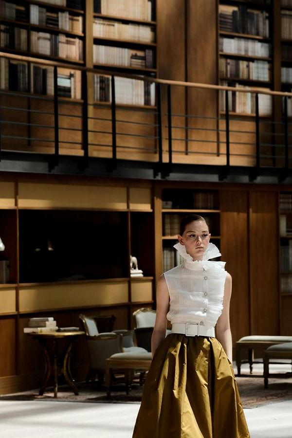 Chanel könyvtára - Haute Couture FW 2019 - oszi-es-teli-divat, fashion-week -