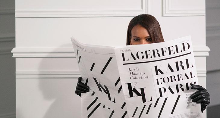 Karl Lagerfeld X  L'Oréal Paris smink kollekció érkezik - smink-2, beauty-szepsegapolas -
