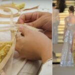 Dolce & Gabbana's Alta Moda Soprarizzo Velvet Dress – How is it made