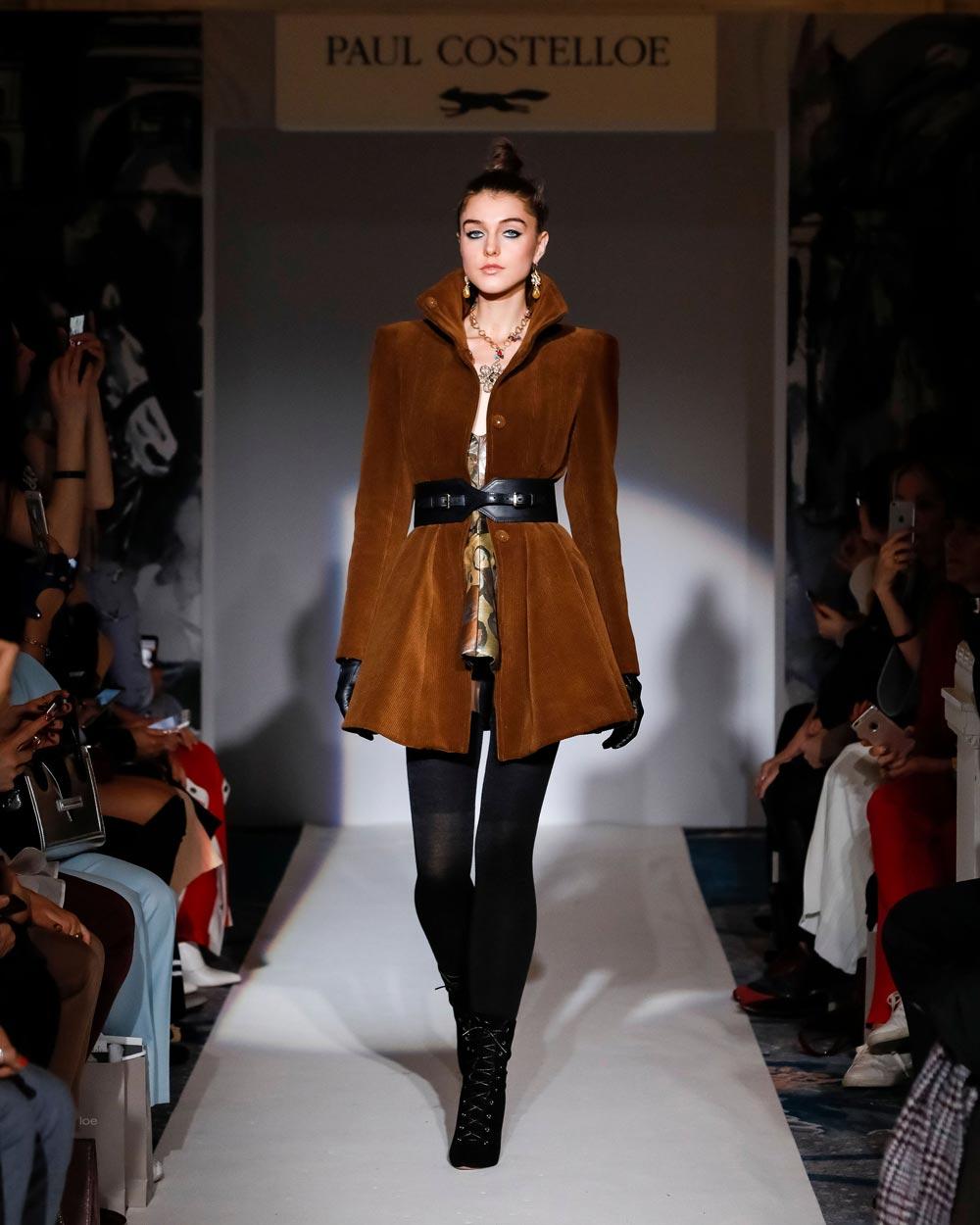 LFW - Paul Costelloe Autumn / Winter 2019-20 - fashion -