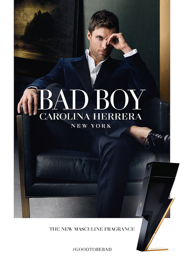 BAD BOY EAU DE TOILETTE - New masculine fragrance by Carolina Herrera - perfume, beauty-en -