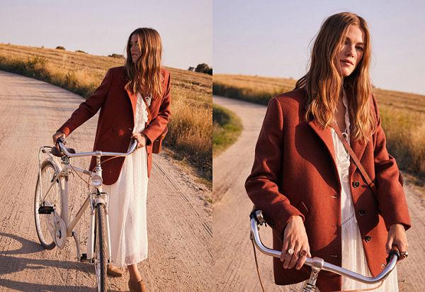 A hetvenes éveket idézi a Mango őszi kampánya - oszi-es-teli-divat, ujdonsagok -