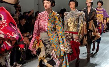 Matty Bovan FW 2019 - Bizonytalan időben egy biztos tervező - london-fashion-week, fashion-week -