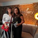 Az Avon új Distillery arcápoló sorozatának nemzetközi bemutatóján jártam Londonban