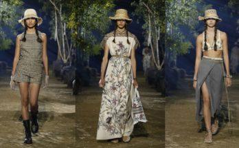 Dior SS20 -óda a természethez - tavaszi-es-nyari-divat, fashion-week -
