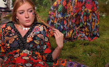 LFW SS20 RIXO - Hippie Chic is back to the garden - fashion -