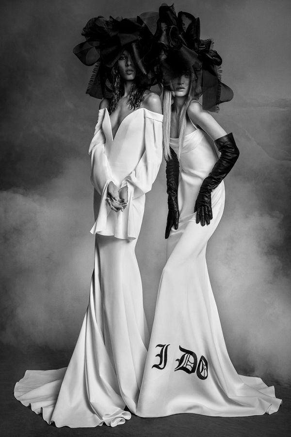 Vera Wang 2020 őszi-téli menyasszonyi kollekciója különc aráknak - eskuvoi-ruha-2, ujdonsagok -