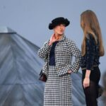 French comedian crashes the runway at Chanel's Paris Fashion Week show