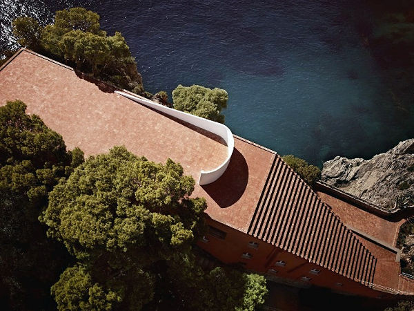 Casa Malaparte - a hely, ahol Louis Vuitton Cœur Battant parfümjének reklámját forgatták - ujdonsagok, artdesign -