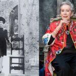 Újra kamerák elé állt Dior és Yves Saint Laurent 85 éves egykori modellje