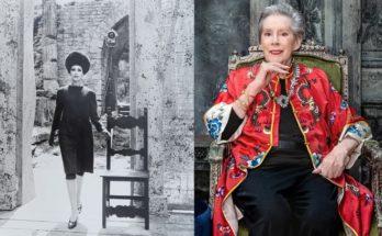 Újra kamerák elé állt Dior és Yves Saint Laurent 85 éves egykori modellje - ujdonsagok -