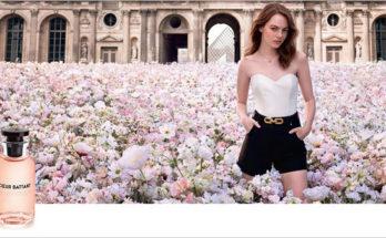 Emma Stone nagyon cuki a Louis Vuitton új parfüm reklámjában - parfum-2, beauty-szepsegapolas -