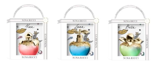 Nina Ricci karácsonyi kollekció 2019: Nina, Luna és Bella új ruhában - parfum-2, beauty-szepsegapolas -