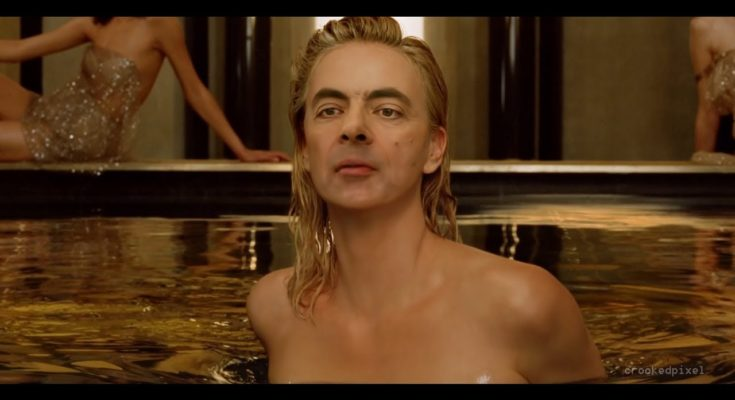 You will not watch a funnier video than this one today- Mr Bean as Dior J'adore ambassador - perfume, beauty-en -