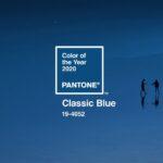 A klasszikus kék lett 2020 hivatalos Pantone színe
