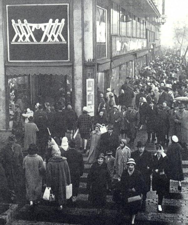 A Verseny áruház története - retro, magyar-divat, kirakat-2, ujdonsagok -