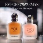STRONGER WITH YOU FREEZE and IN LOVE WITH YOU FREEZE – The new fragrances duo by Emporio Armani