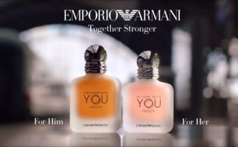 STRONGER WITH YOU FREEZE and IN LOVE WITH YOU FREEZE – The new fragrances duo by Emporio Armani - perfume, beauty-en -