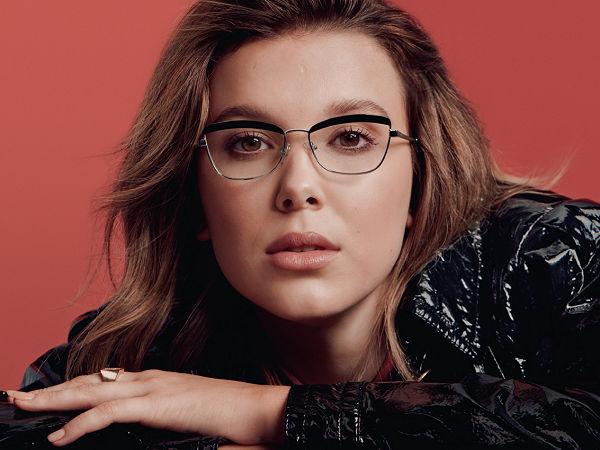 Millie Bobby Brown közös kollekciót adott ki a Vogue Eyewear-rel - szemuveg-2, ujdonsagok -