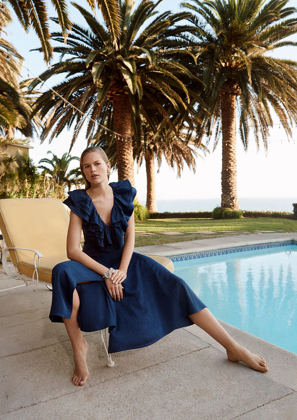 H&M's Conscious Exclusive collection SS 20 inspired by the Golden Age of train travel - uncategorized-en, fashion -