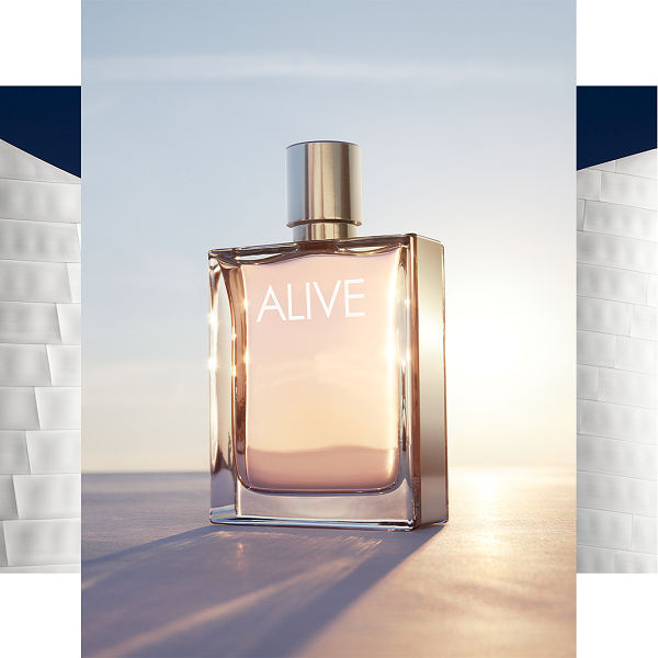 BOSS Parfums introducing a new  fragrance for women: ALIVE - perfume, beauty-en -