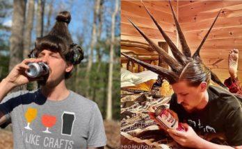 Karanténban unatkozó fodrász a barátját fogta be modellnek - haj-2, beauty-szepsegapolas -