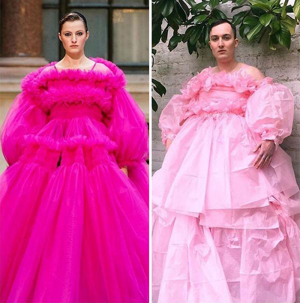 Divat a karanténban, avagy virágzik a home couture - ujdonsagok -