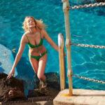 Mihalik Enikő német luxusáruház  fürdőruháiban csalogatja a nyarat