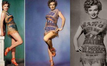Marilyn Monroe esete a krumplis zsákkal - divat-tortenetek, ujdonsagok -