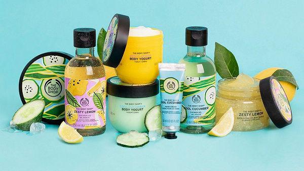 Megérkezett a The Body Shop citromos és uborkás nyári limitált sorozata - Paradi Online
