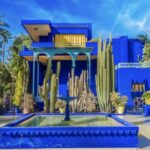Ilyen Yves Saint Laurent marokkói otthona