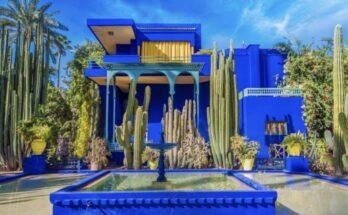 Ilyen Yves Saint Laurent marokkói otthona - divattervezo, ujdonsagok -